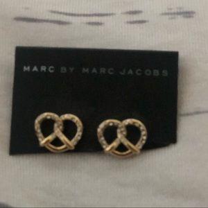 Marc Jacobs pretzel earrings
